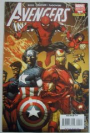 Avengers Invaders #1 Finch Retail Incentive Variant 1:25 Marvel comic book